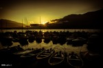 Sunrise in Brissago