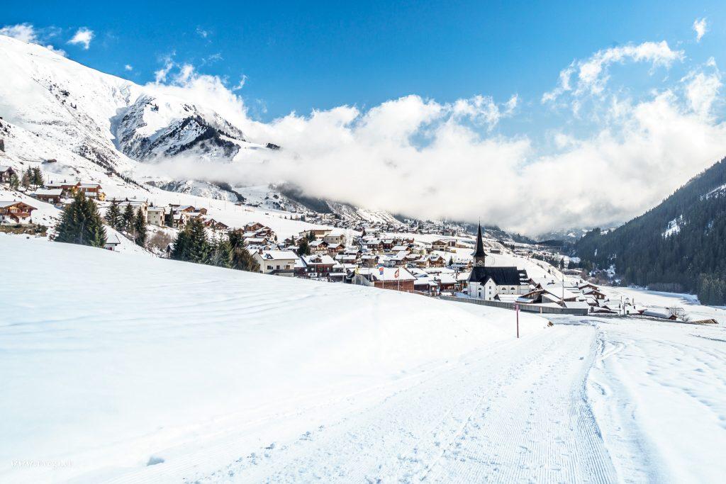 Winter in Rueras / Sedrun